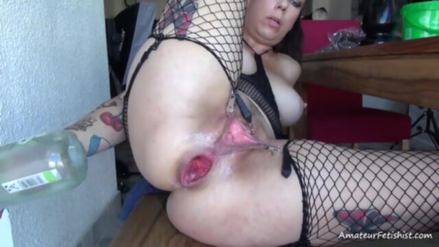 Lovely tattooed girl with sweet asshole KeezMovies anal