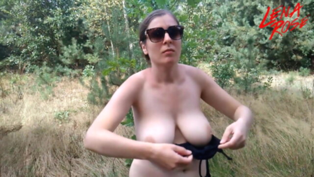 Topless and nude walk KeezMovies bbw