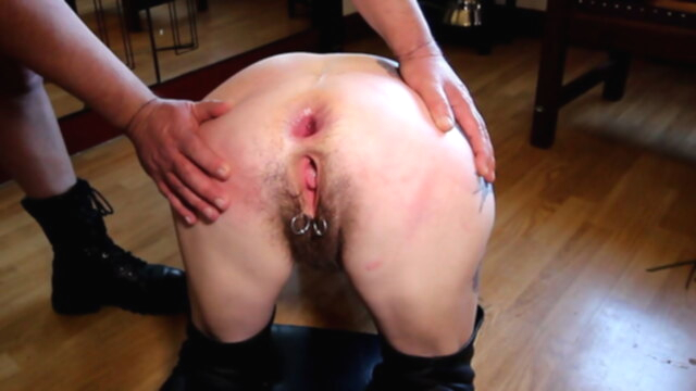 Hairy mature slut fucked in her ass KeezMovies anal